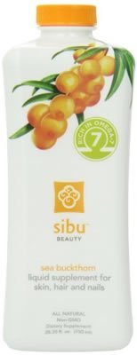 Sibu Beauty Sea Buckthorn Liquid Supplement, 25.35 Fl Oz (Pack of 3)