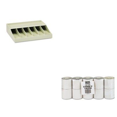 KITMMF210470089PMC09325 - Value Kit - Pm Company Paper Rolls (PMC09325) and MMF Bill Strap Rack (MMF210470089)