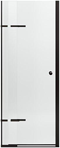 KOHLER K-709032-L-ABZ Underline Pivoting Shower Door, 69-1/2