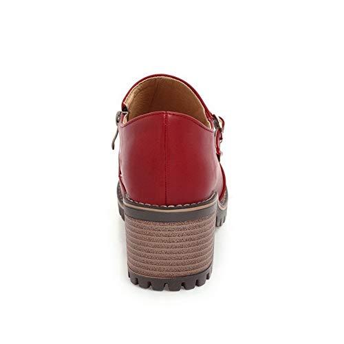 Femme Balamasa Sandales Apl10584 Red Compensées rttZx