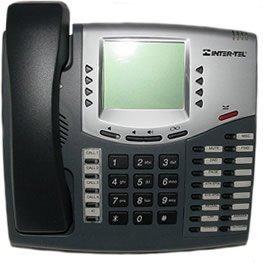 Inter-Tel Axxess 6-Line Large LCD Display Executive Digital Speakerphone -