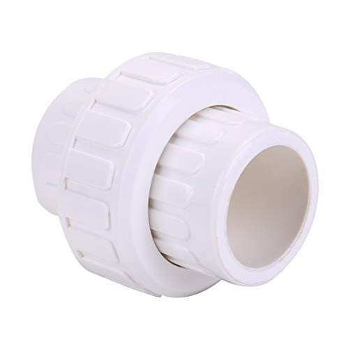 SHYOKO 2'' PVC Pipe Fitting, PVC Union with EPDM O-Ring with EPDM O-Ring, Schedule 80, 2'' Socket [Available 3/4'',1'',1.5'']