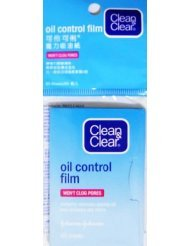 Clean And Clear Oil Blotting Sheets - Clean & Clear Oil Control Film Blotting Paper, Oil-absorbing Sheets for Face, 60 Sheets (Pack of 4)