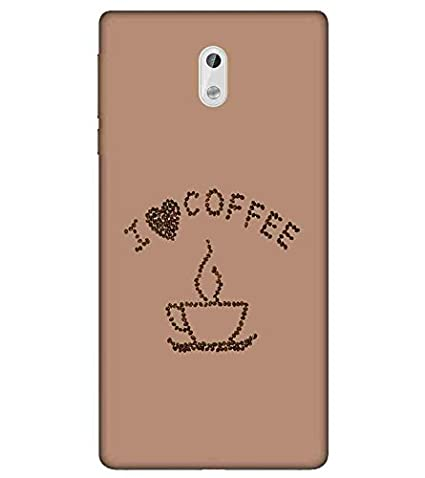 For Nokia 3 I Love Coffee Printed Designer Back Case Amazon