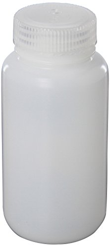 Nalgene HDPE Wide Mouth Round Container, 8 Oz Translucent Jar