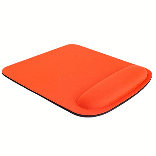 Shouhengda Wrist Rest Thicken Mouse Pad Square Optical-trackball Mat (orange) on sale
