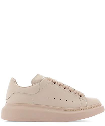 Alexander McQueen Women's 558943Whgp05619 Pink Leather Sneakers