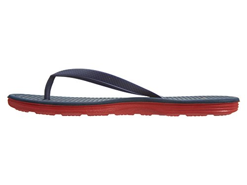 Nike Wmns Solarsoft Thong 2, Chanclas para Mujer Azul (Loyal Blue / University Red)