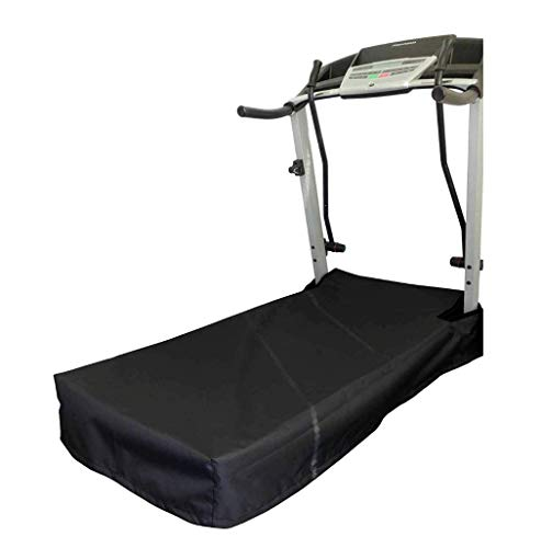 (Equip, Inc. The Best Treadmill Platform/Belt Cover. Heavy Duty UV/Mold/Mildew/Water Resistant Fabric Cover Perfect for Indoor or Outdoor use. Made in USA with 3-Year Warranty. (Black, Large) )