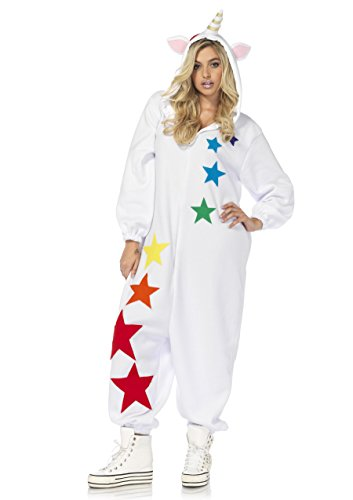 sc 1 st  Funtober & Leg Avenue Womenu0027s Magic Unicorn Kigurumi - Funtober