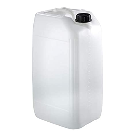 hogred 2 x 20 litre jerry can water carrier home camping stackable approved 70 mm neck anti glug ecovent/…