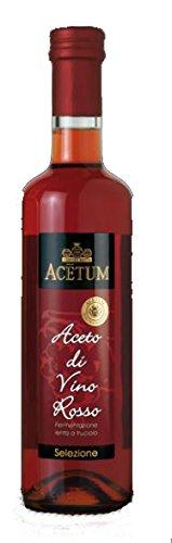 ACETUM Aceto Di Vino Rosso (Red Wine Vinegar) 16.9 fl. - Vino Wine Red Rosso
