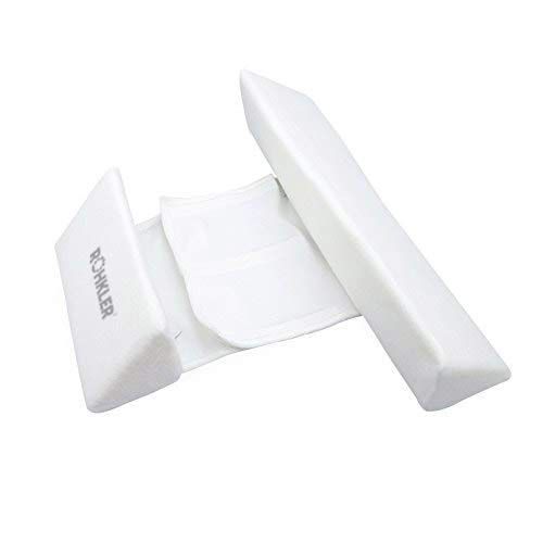 Newborn Baby Side Positioning Sleep Wedge Pillow for Boys and Girls May Prevent Flat Head and Acid Reflux by ROHKLER (Image #5)