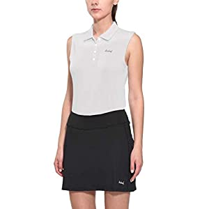 BALEAF Women's Golf Sleeveless Polo Shirts Tennis Tank Tops Quick Dry UPF 50+