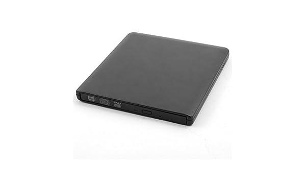 Amazon.com: eDealMax Metal USB 3.0 externa de disquete DVD-RW unidad grabadora de CD portátil disquete de ordenador Negro Para PC: Computers & Accessories