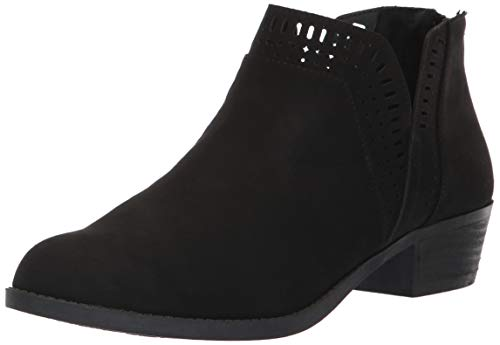 Carlos by Carlos Santana Women's BILLEY Ankle Boot, Black, 6 Medium US