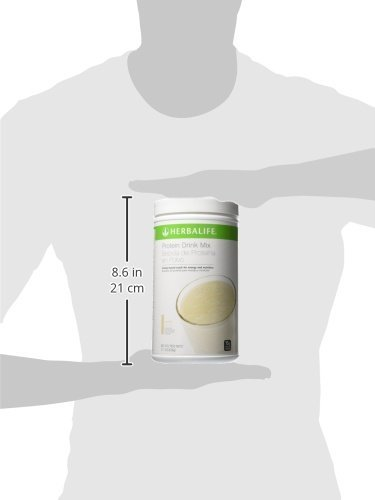 Herbalife Protein Drink Mix – Vanilla Flavored Soy Protein 616 g 21.7 oz – Healthy Low Carb Nutritional Shake Meal Replacement – Certified Gluten Free