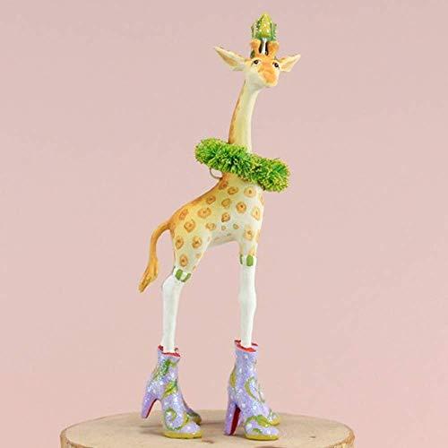 Patience Brewster Mini Janet Giraffe Figural Ornament #31297 - Krinkles Christmas Reindeer