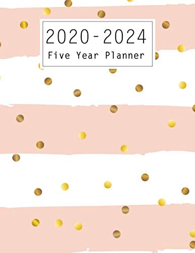 Five Year Planner: 60 Months Calendar, Monthly Schedule Organizer, 5 Year Appointment Calendar for The Next Five Years…