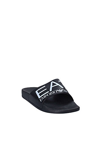 EA7 Hombre Sliders World Sea Negro Negro rr1ZTq