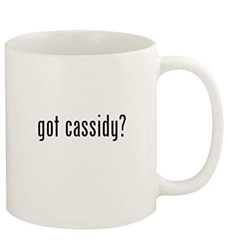 got cassidy? - 11oz Ceramic White Coffee Mug Cup, White (Shaun Cassidy Doll)