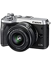 Save up to 25% on select Canon EOS M6 Digital Camera + 15-45mm lens. Discount applied in price displayed.