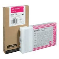 Epson T603300 Vivid Magenta UltraChrome K3 OEM Genuine Inkjet/Ink Cartridge