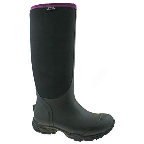 78446 Boot Black Tall uk 7 Bogs Waterproof eu Essential Warm 41 Wellies Ladies Insulated vtw8zx