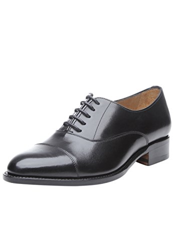 Chaussure Cousue pour Noir en Richelieu Détente Ville en Fin Goodyear Cuir Fabriquée et 1105 SHOEPASSION de No Élégante Femme Noir et Main Captoe Xfx670q