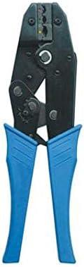WY-WY 家の修理に適した、すなわち屋外産業メンテナンスブルー多機能絶縁端子圧着プライヤーセット(カラー:ブルー、サイズ:190ミリメートル) ラジオペンチ