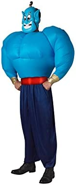 Disfraz oficial de Aladín, el genio de Rubies, para adultos, con ...
