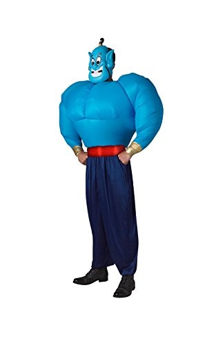 Genie Costumes For Adults (RubieÃ'´s Rubie's Official Adult's Genie, Aladdin Inflate Torso Costume - One Size,)
