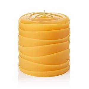 "Gut Health Shop 31uRYTZH%2B1L._SS300_ ""Oasis"" 3""x3"" Handmade Pure Beeswax Pillar Candle."