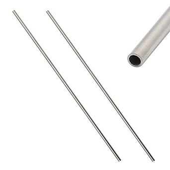 Amazon.com: Eowpower - 2 tubos de metal capilares de acero ...