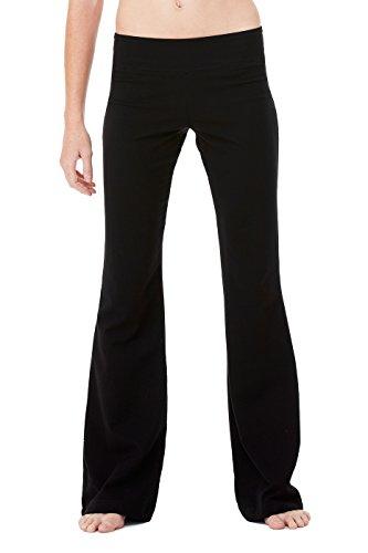Bella + Canvas Womens Cotton/Spandex Fitness Pant (810)- (Bella Ladies Fitness Pant)