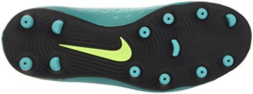Nike 844204-374, Botas de Fútbol para Niños Azul (Rio Teal / Volt-Obsidian-Clear Jade)