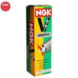 1 x NGK Bujía v-grooved bkr5e-11-vg4 bkr5e11vg4 (5572): Amazon.es: Coche y moto