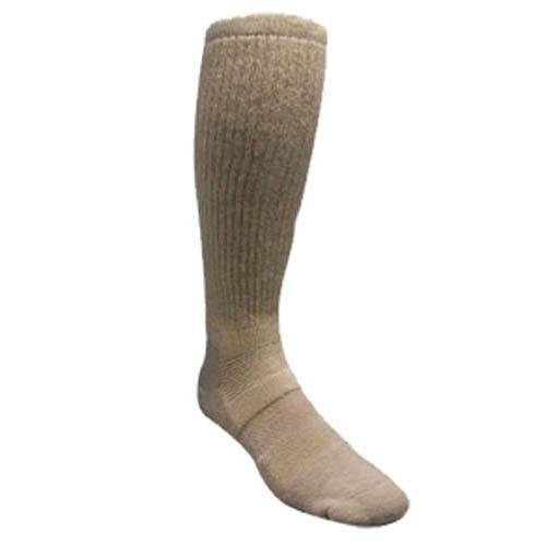 Covert Threads Desert Climate Military Boot Socks, Brown, Large (Best Combat Boot Socks)