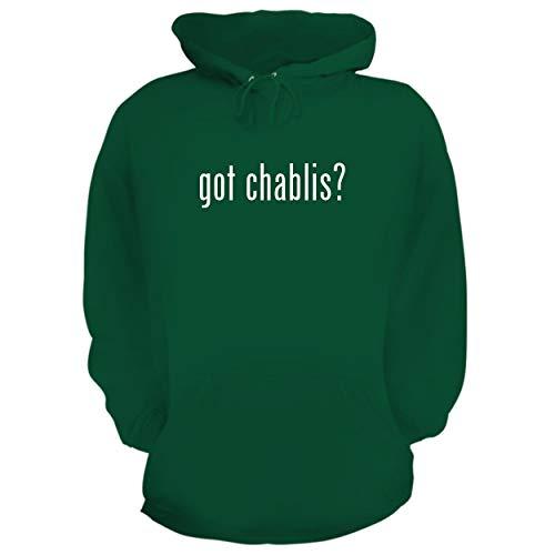 BH Cool Designs got Chablis? - Graphic Hoodie Sweatshirt, Green, XX-Large ()