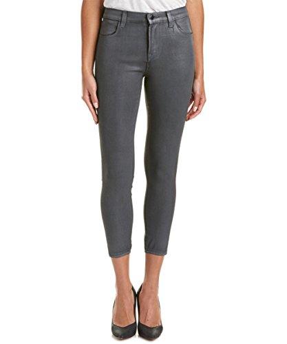 J Brand + Theory Women's Gray Coated Skinny Jeans (23)