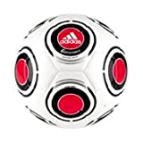 adidas TerraPass Glider Soccer Ball (White/Red/Black, 4)