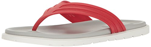 Kenneth Cole New York Men's Catch a Glimpse Flip Flop, Red, 10 M (Kenneth Cole Rubber Sole Sandals)