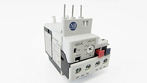 ALLEN BRADLEY 193-KB48 3.5-4.8A Thermal Overload Relay Allen Bradley Thermal Overload Relay