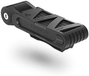 Voxom Unisex/ 85cm Adults Foldylock Compact Folding Lock Black