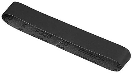 3 pieza, Dewalt DT3347-QZ Lijado cintur/ón para m/áquinas estacionarias 40x577 k320