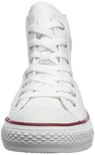Chuck Taylor All Star Canvas High Top, Optical White, 3 M US by Converse (Image #4)