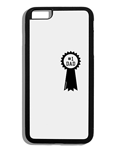 TooLoud Number One Dad Award Ribbon Black Dauphin iPhone 6 Plus Cover