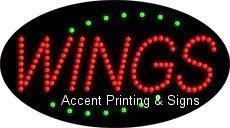 Wings Flashing & Animated LED Sign (High Impact, Energy Efficient)