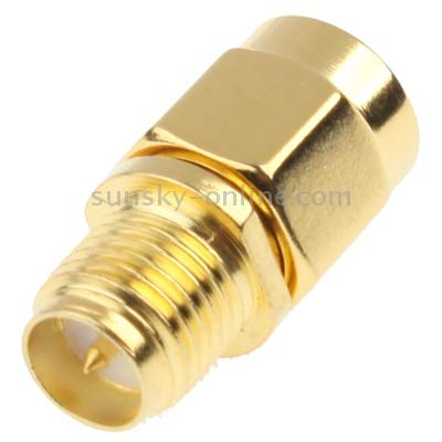 Gold Plated Multifunctional Meet Different Needs SMA Male to RP-SMA Female Adapter