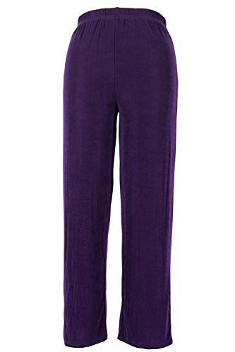 Jostar Women's Acetate Big Pants Small Purple